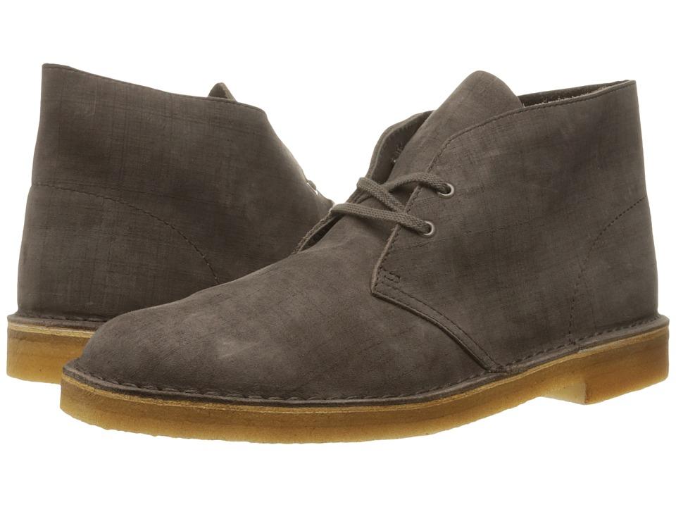 Clarks - Desert Boot (Dark Taupe Nubuck) Men