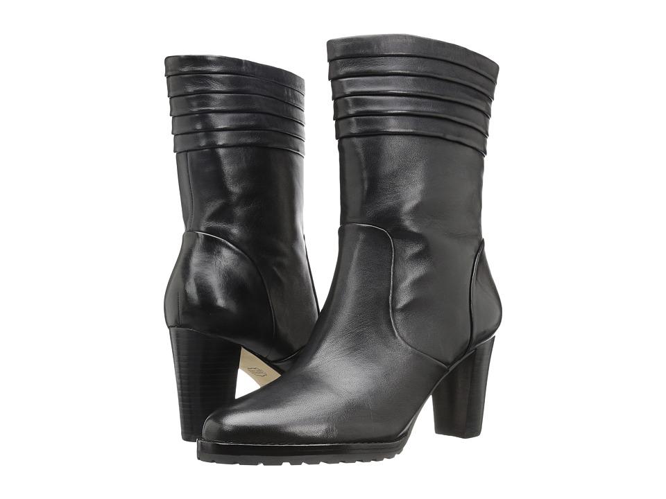 Johnston & Murphy Joslyn Bootie (Black Glove Leather) Women
