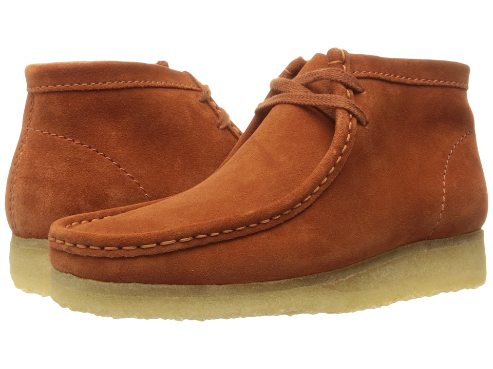 Clarks - Wallabee Boot (Rust Vintage Suede) Men
