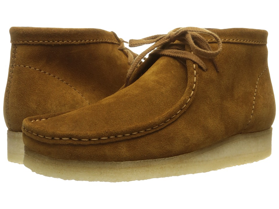 Clarks - Wallabee Boot (Bronze Suede) Men
