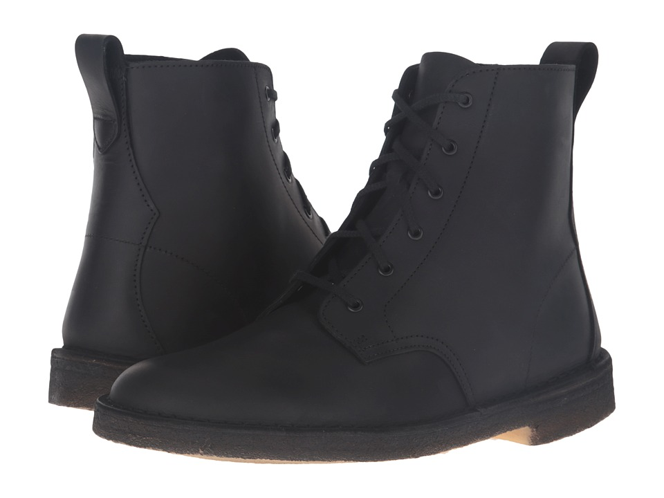 Clarks - Desert Mali Boot (Black Beeswax Leather) Men