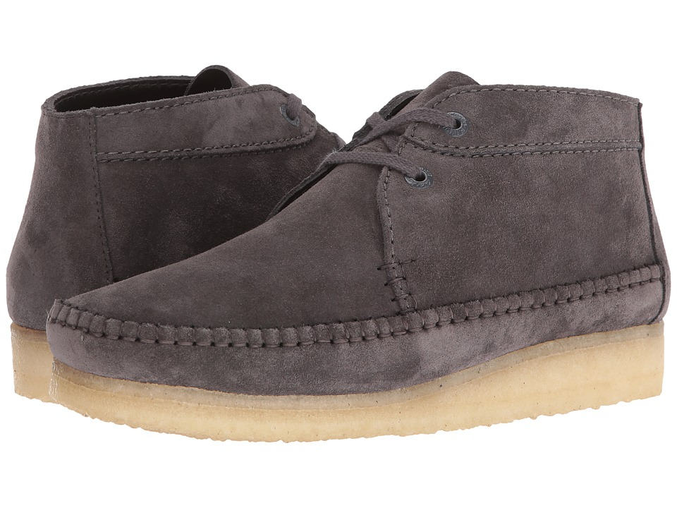Clarks - Weaver Boot (Charcoal Suede) Men