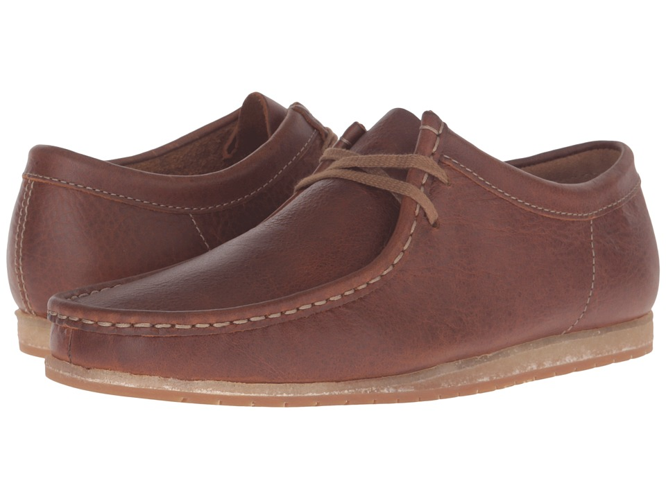 Clarks Wallabee Step (Tan Leather) Men's Shoes