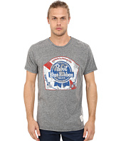 The Original Retro Brand - Textured Tri-Blend Pabst Blue Ribbon Tee