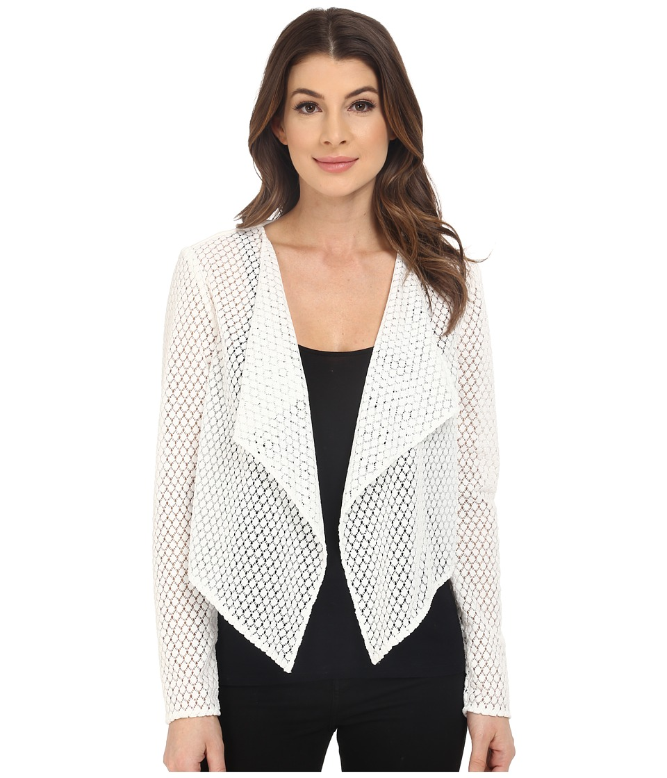 Jessica Simpson Lace Jacket White Womens Coat