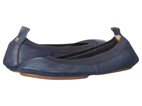 Yosi Samra Samara Flat Leather - Deep Navy