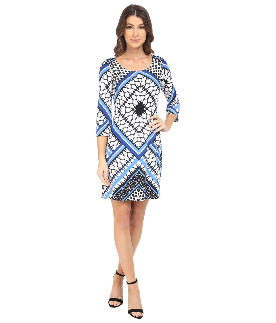 Jessica Simpson - Printed Ity Shift Dress