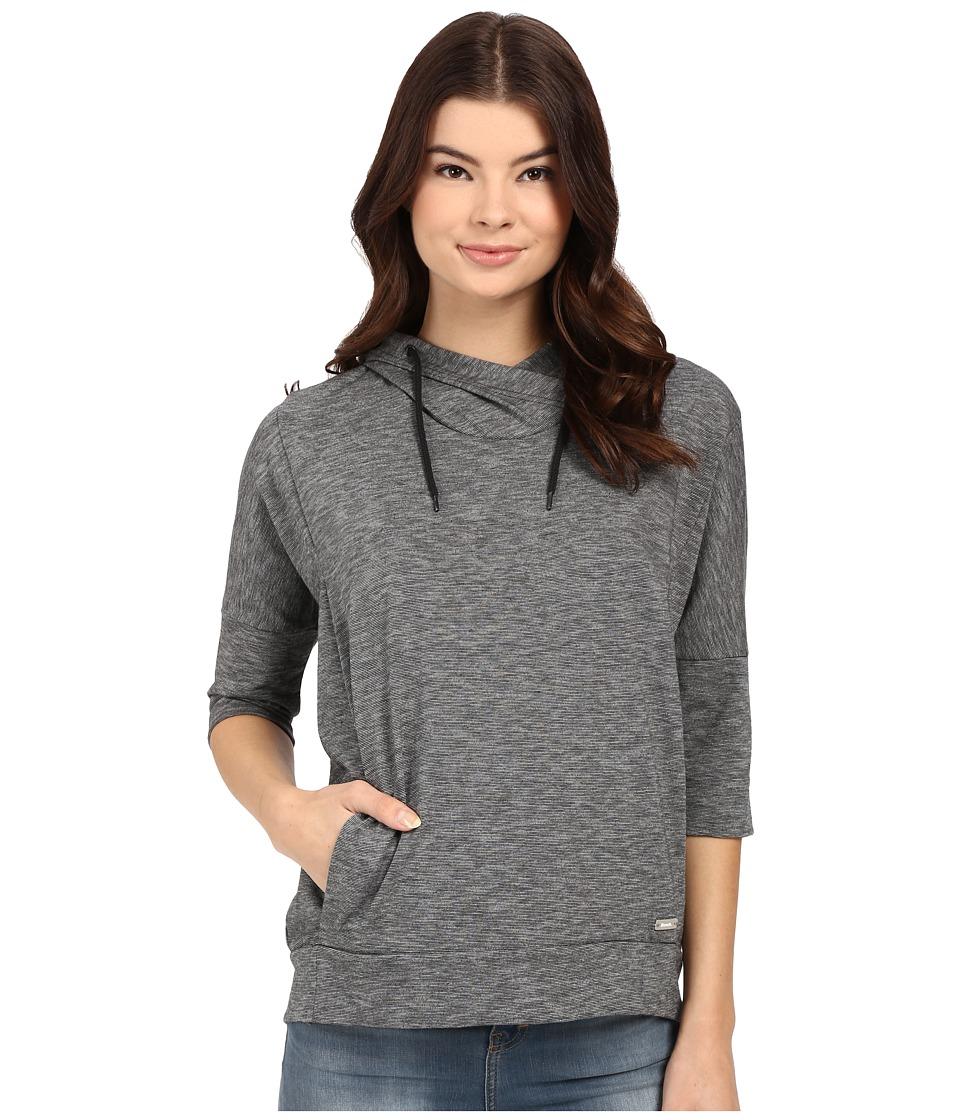 Bench Ally Overhead Pullover Hoodie Jet Black Womens Sweatshirt