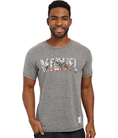 The Original Retro Brand - Textured Tri-Blend Short Sleeve Marvel Tee