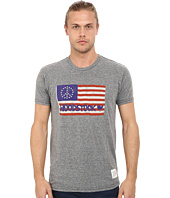 The Original Retro Brand - Short Sleeve Woodstock Flag Tee
