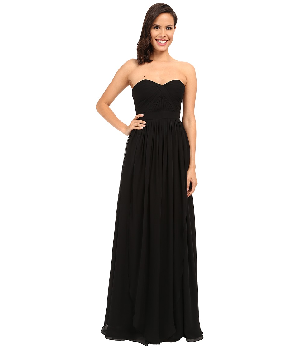 Faviana Strapless Chiffon Convertible Dress 7822 Black Womens Dress