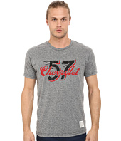The Original Retro Brand - Tri-Blend Short Sleeve 57 Chevy Tee