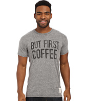 The Original Retro Brand - Tri-Blend Short Sleeve But First, Coffee Tee