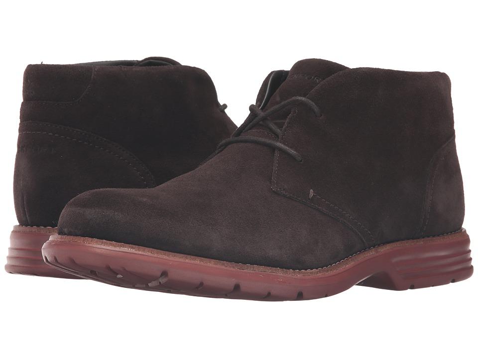 Rockport - Total Motion Fusion Desert Boot (Dark Bitter Chocolate) Men