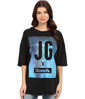 Bench - Jess Glynne x Bench™ collaboration- Keep Laughing Short Sleeve Tee