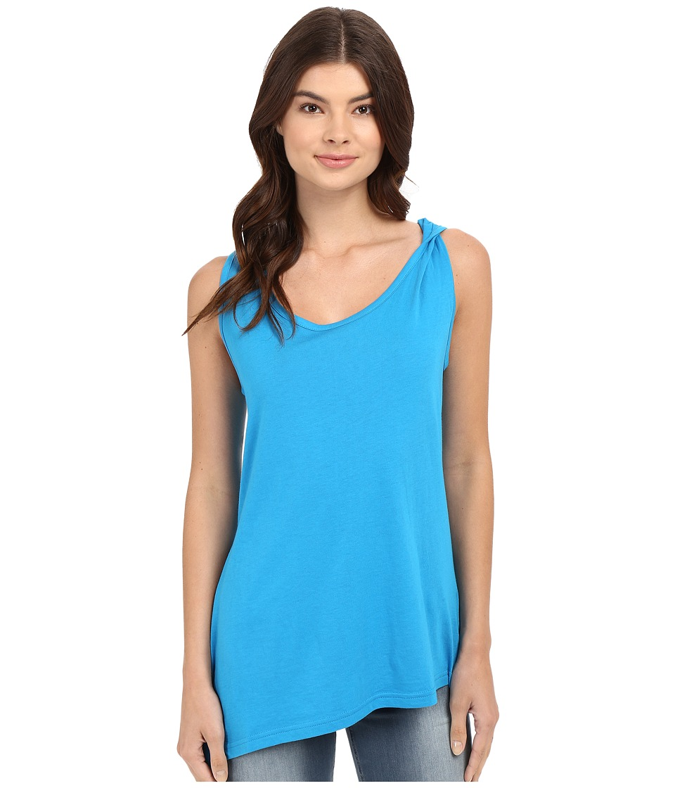 Bench Covet Short Sleeve Top Methyl Blue Womens Short Sleeve Pullover