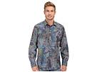 Bugatchi Avant Garde Classic Fit Long Sleeve Woven Shirt (Midnight)