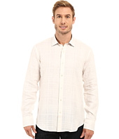 BUGATCHI - Tuscany Shaped Fit Long Sleeve Woven Shirt