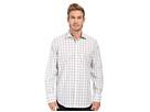 Bugatchi Naples Classic Fit Long Sleeve Woven Shirt (Platinum)