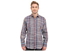 Bugatchi Venice Classic Fit Long Sleeve Woven Shirt (Navy)