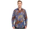 Bugatchi Rome Classic Fit Long Sleeve Woven Shirt (Indigo)