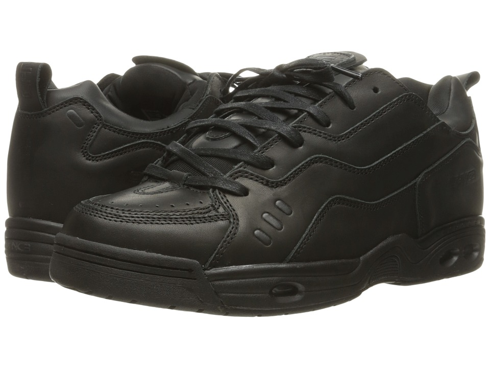 Globe - CT-IV DLX (Black Leather) Mens Skate Shoes