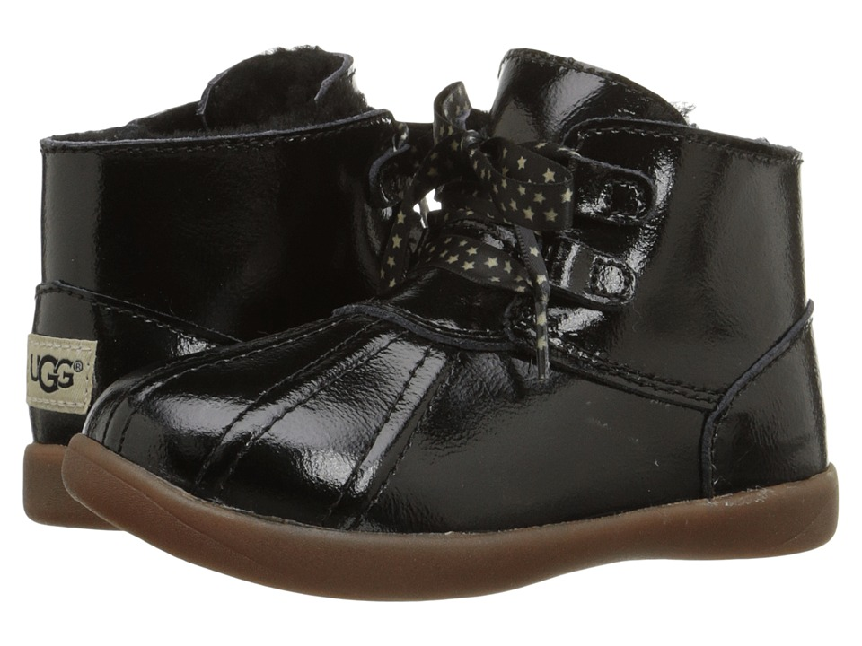 UGG Kids Payten Stars (Toddler) (Black) Girls Shoes