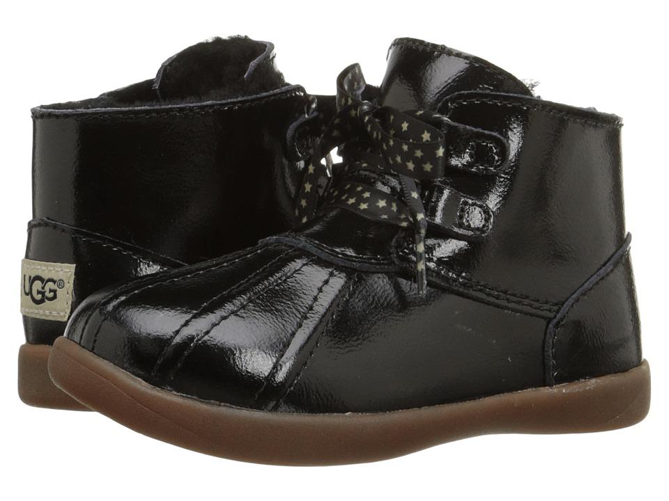 UGG Kids Payten Stars (Toddler) (Black) Girls Shoes