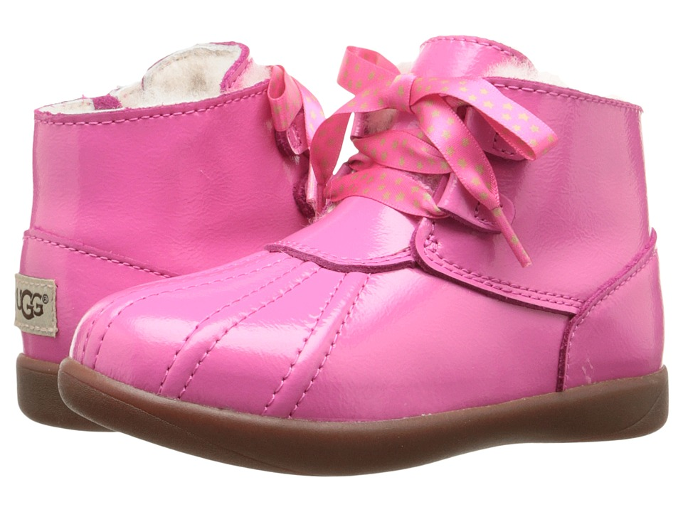 UGG Kids Payten Stars (Toddler) (Diva Pink) Girls Shoes
