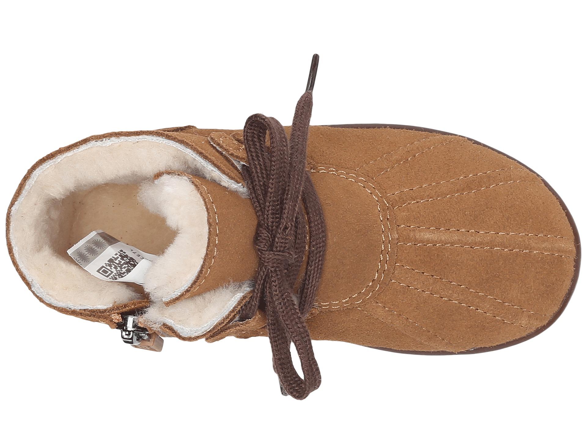 Ugg Kids Payten T Kids Shoes Chestnut Suede