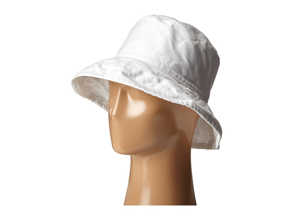 Hat Attack - Washed Cotton Crusher (White) Caps