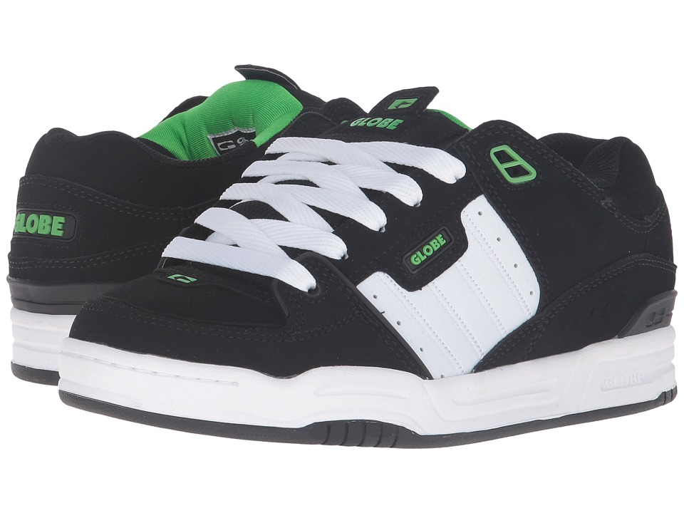 Globe Fusion (Black/White/Green) Men