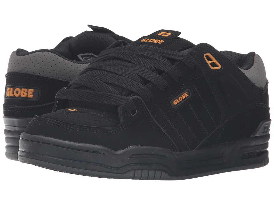 Globe Fusion (Black/Caramello/Charcoal) Men