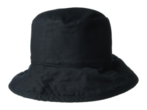 Hat Attack Washed Cotton Crusher - Black