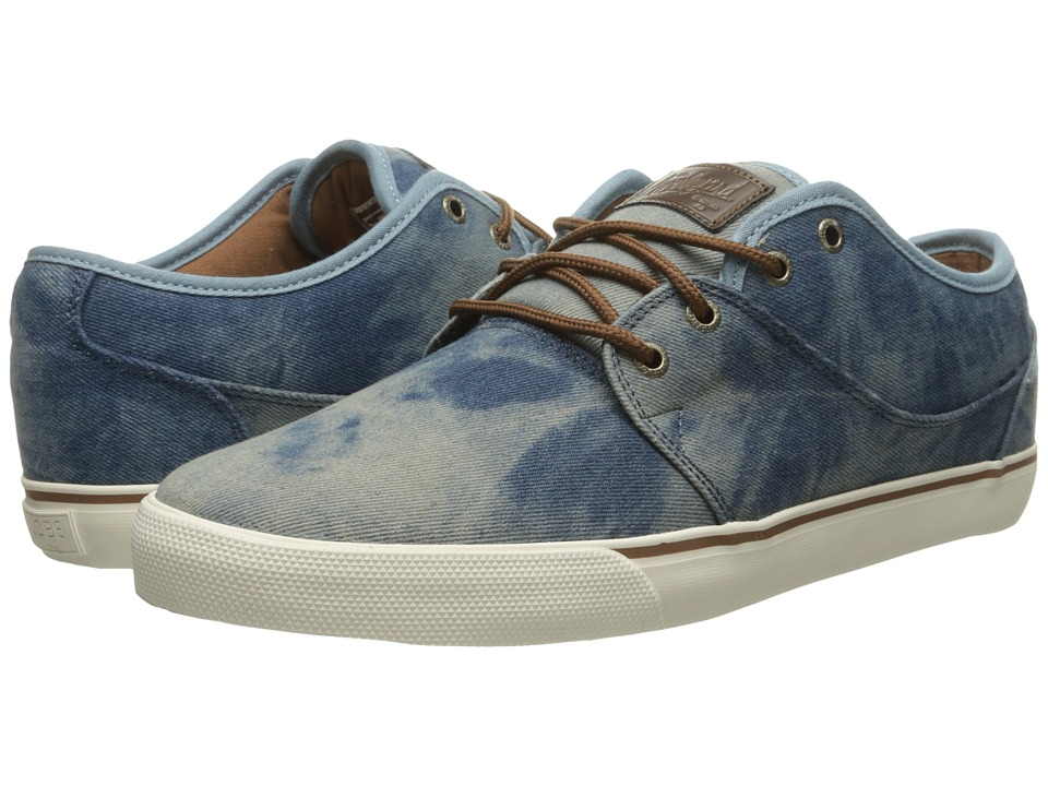 Globe Mahalo (Washed Denim/Antique) Men