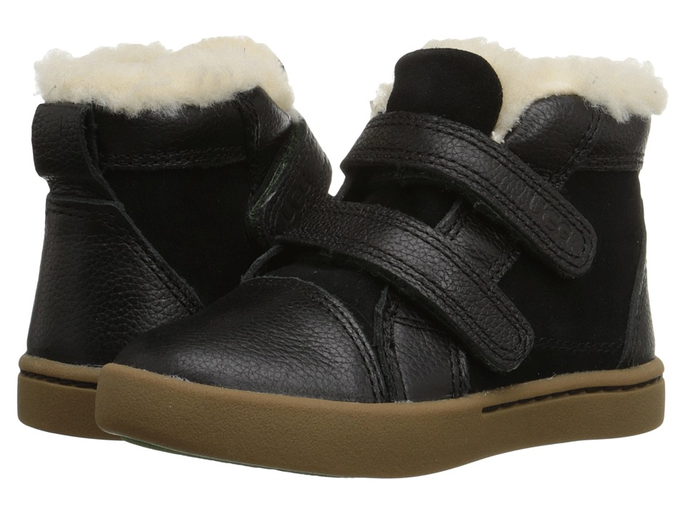 UGG Kids Rennon (Toddler/Little Kid) (Black) Kids Shoes