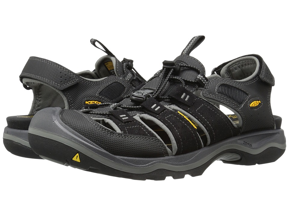 Keen - Rialto H2 (Black/Gargoyle) Men's Shoes