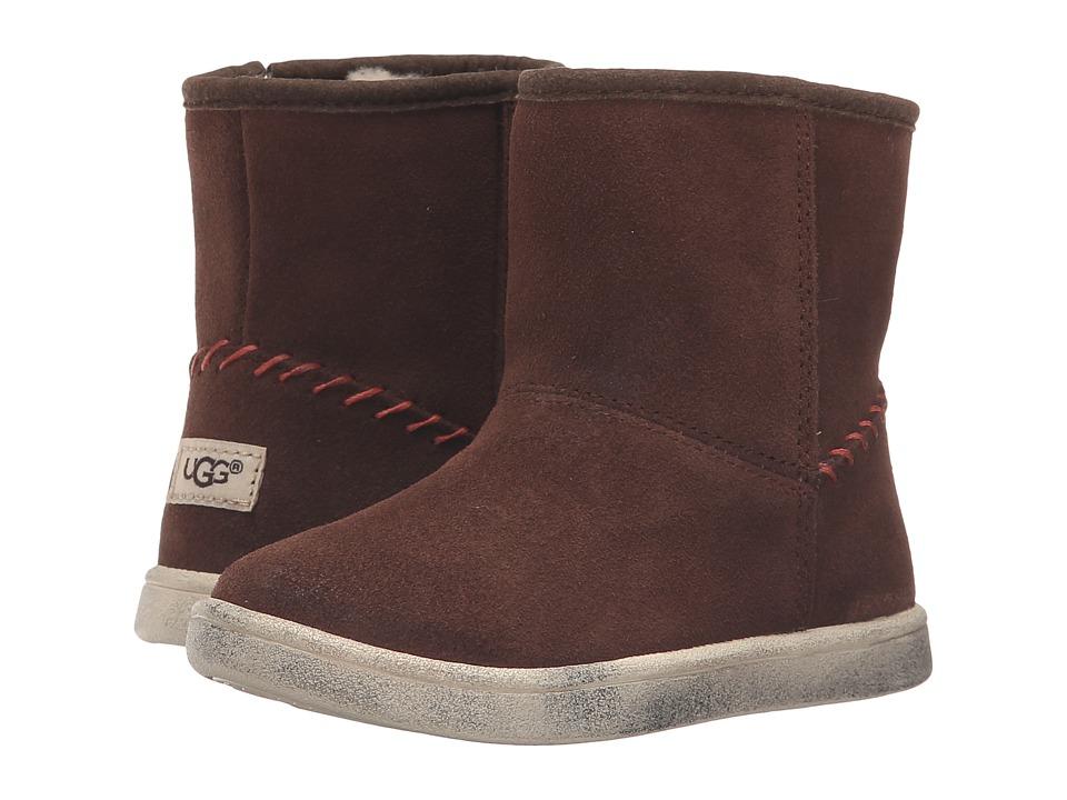 UGG Kids Rye (Toddler/Little Kid) (Chocolate) Girls Shoes
