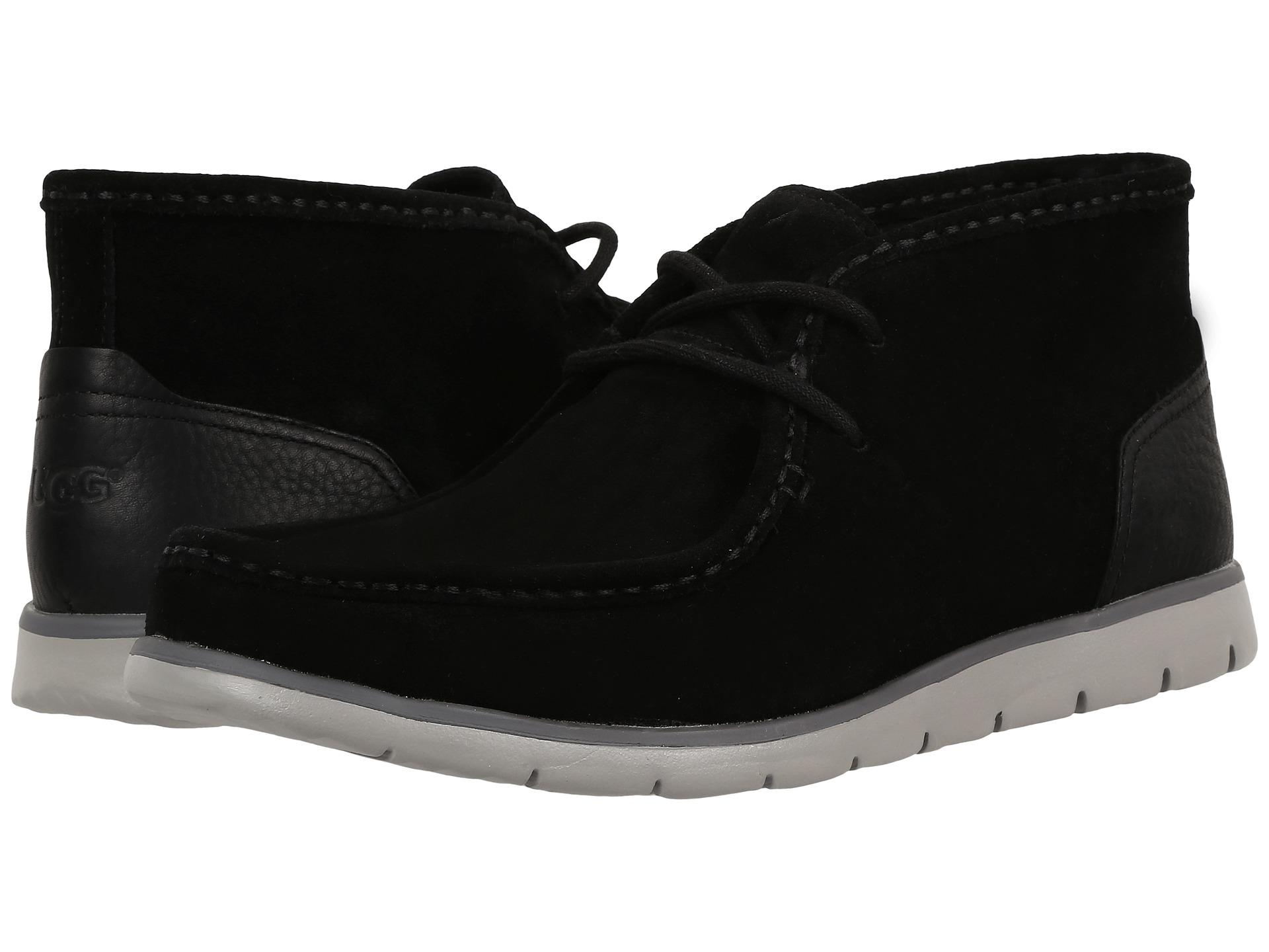 black ankle ugg boots uk