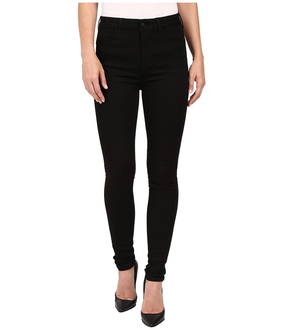 Bench Jess Glynne x Bench collaboration Everythings OK Denim Jet Black Womens Jeans