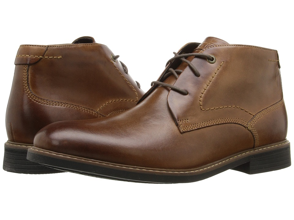 Rockport Classic Break Chukka (Dark Brown Leather) Men