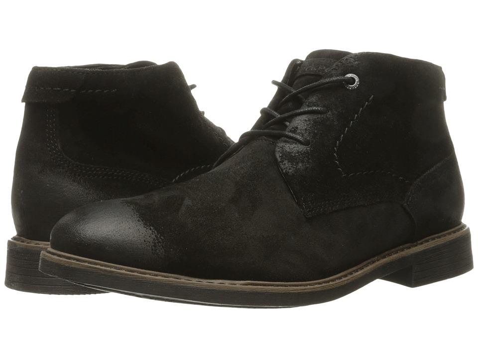 Rockport - Classic Break Chukka (Black Leather) Men
