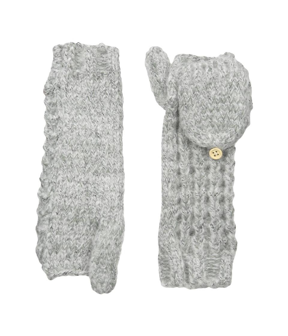 Coal The Kate Mitten (Heather Grey) Wool Gloves