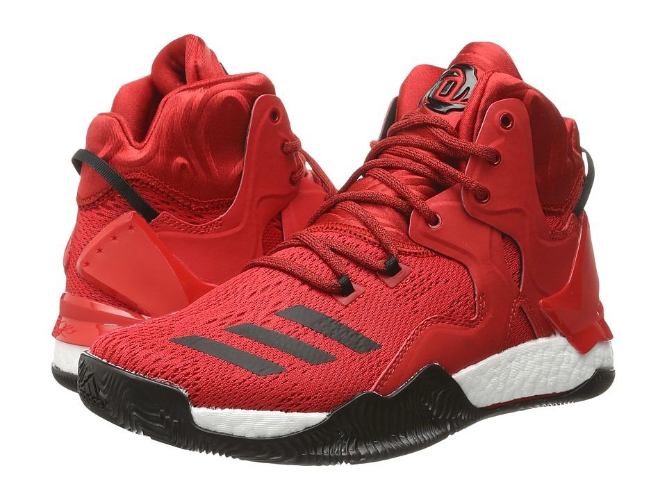 adidas - D Rose 7 (Scarlet/Core Black/WHite) Men