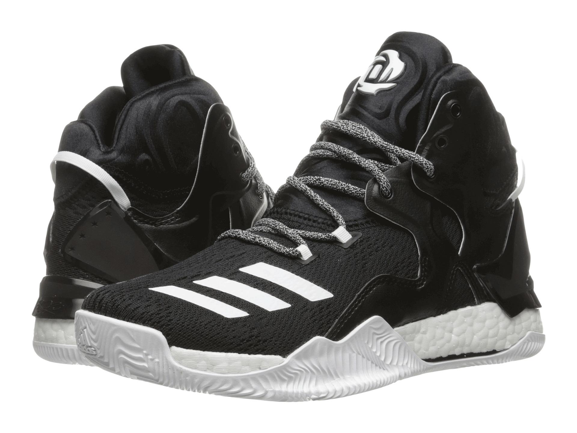 Adidas Rose 7 Black/Scarlet