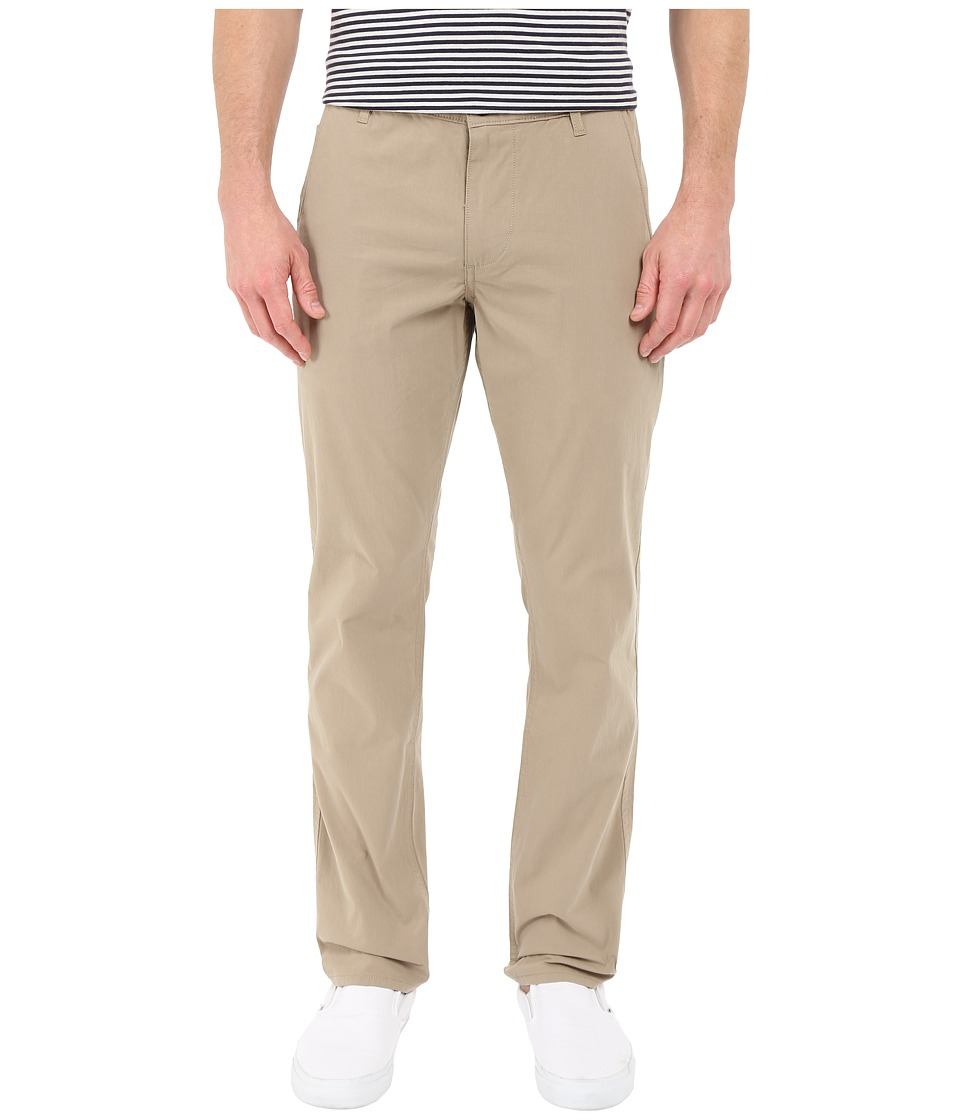 Dockers Mens Alpha on the Go Khaki Timber Wolf Mens Casual Pants