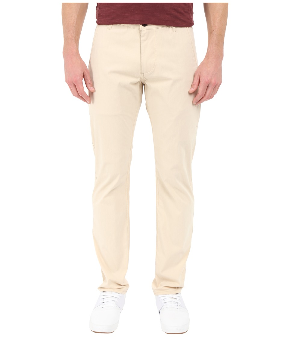 Dockers Mens Alpha on the Go Khaki Oyster Gray Mens Casual Pants