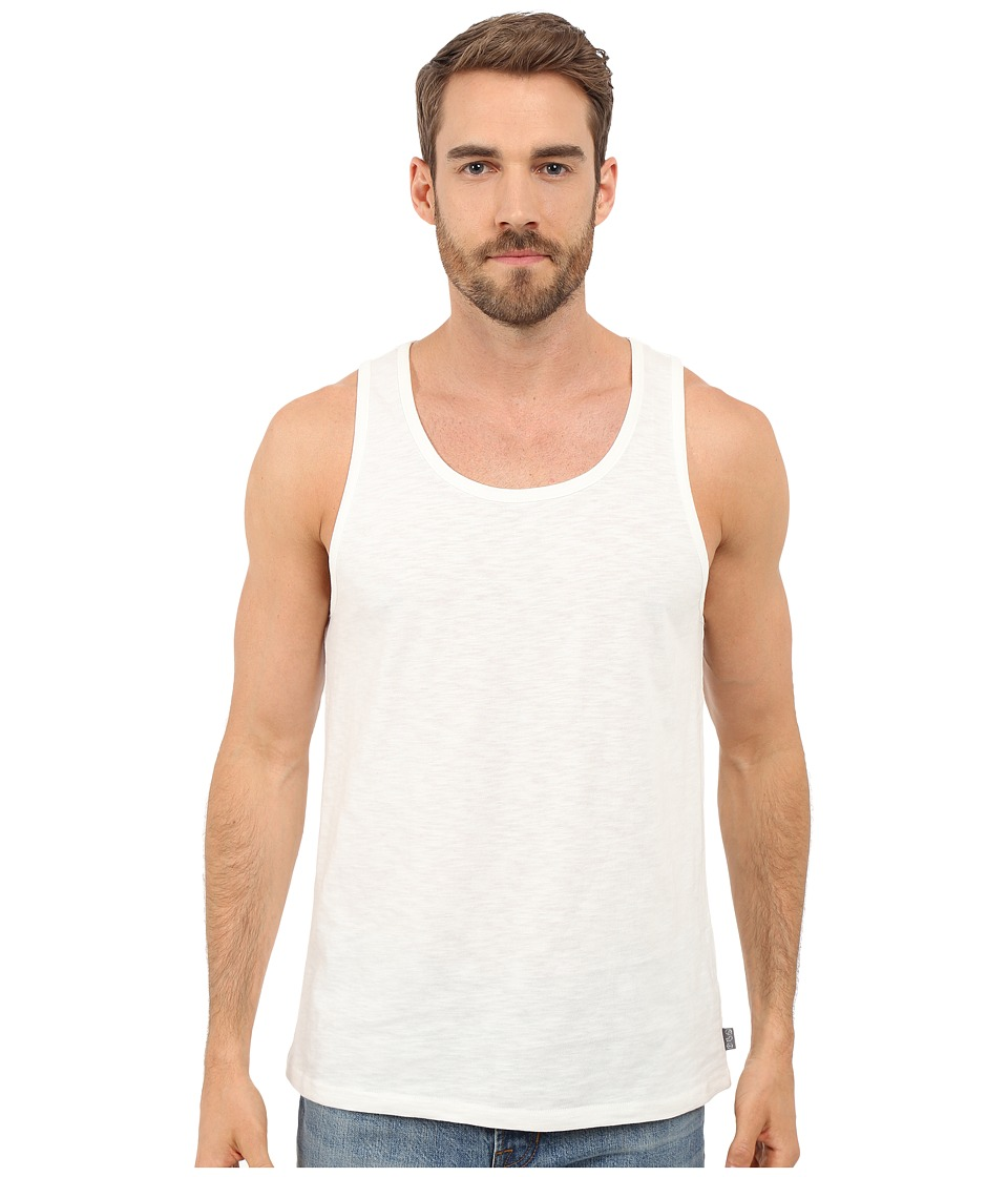 Threads 4 Thought Baseline Solid Tank Top White Mens Sleeveless