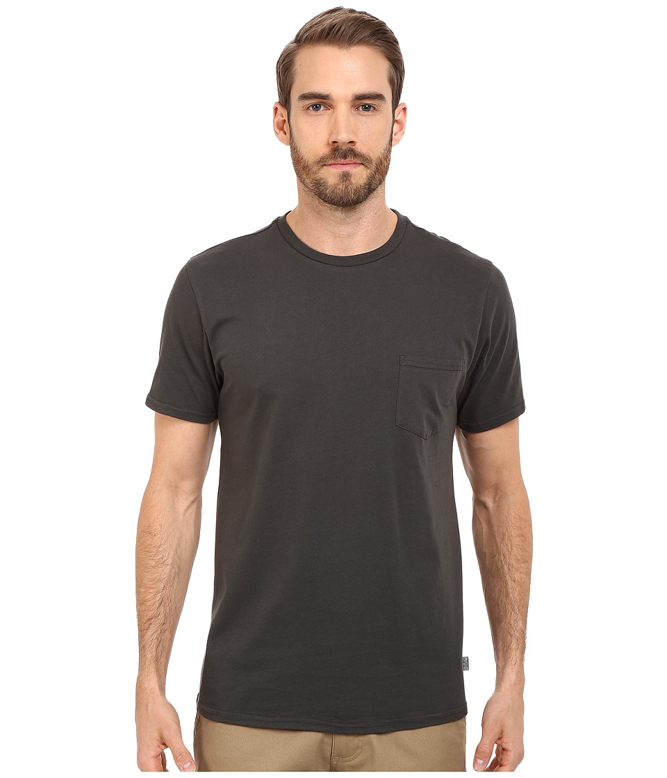 Threads 4 Thought Baseline Pocket Crew Tee Raven Mens T Shirt
