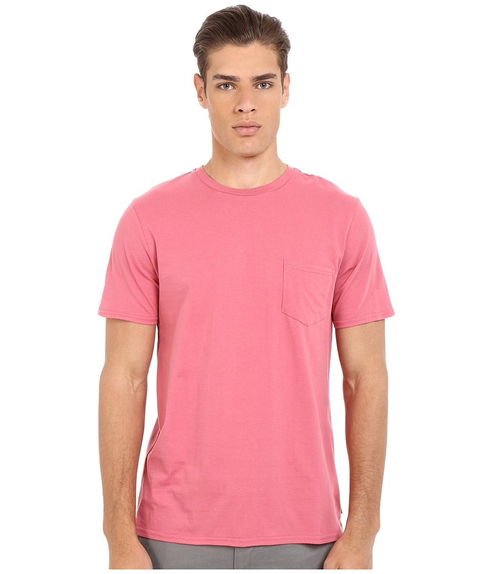 Threads 4 Thought Baseline Pocket Crew Tee Cranberry Mens T Shirt